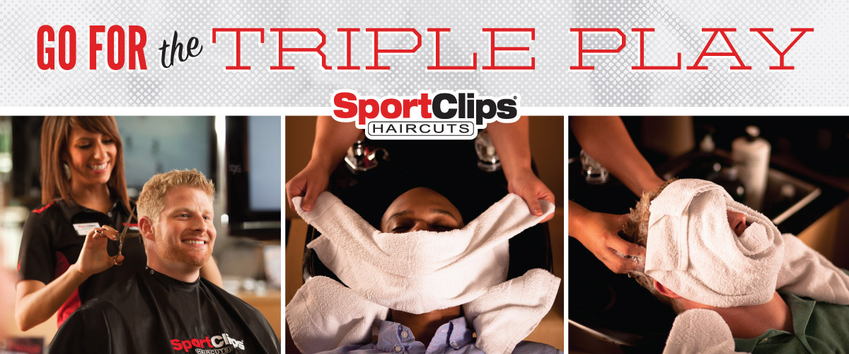 The Sport Clips Haircuts of Branford Triple Play